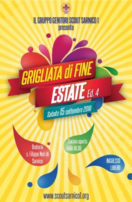 GRIGLIATA DI FINE ESTATE 2018