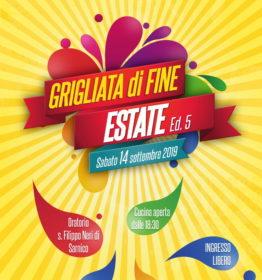 GRIGLIATA DI FINE ESTATE 2019!